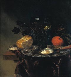 Still Life, 1670 by Abraham Beyeren | Painting Reproduction