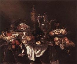 Banquet Still-Life, c.1655 von Abraham Beyeren | Gemälde-Reproduktion