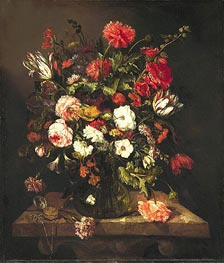 Still Life, c.1653/65 von Abraham Beyeren | Gemälde-Reproduktion