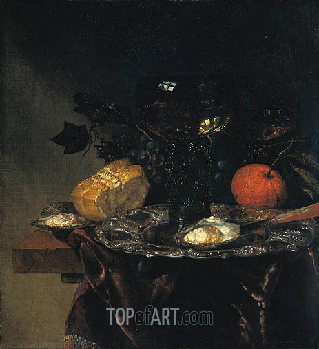 Still Life, 1670 | Abraham Beyeren| Painting Reproduction