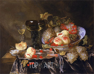 Still Life, undated | Abraham Beyeren | Painting Reproduction
