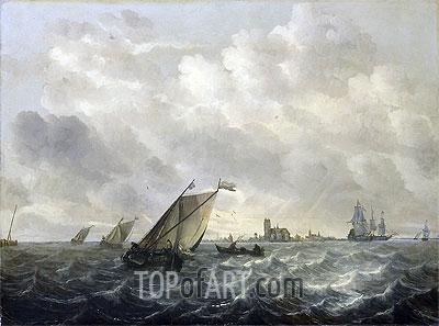 River View, c.1650/70 | Abraham Beyeren | Painting Reproduction