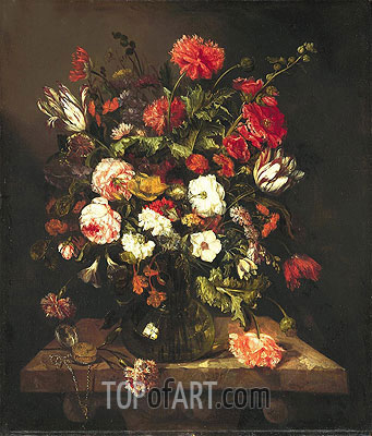 Still Life, c.1653/65 | Abraham Beyeren | Painting Reproduction
