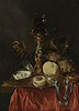 Still Life with a Silver Gilt Cup with a Roemer | Abraham Hendrickz van Beyeren
