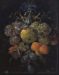 Fruits | Abraham Mignon | Painting Reproduction