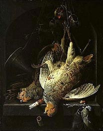 Dead Fowl, undated by Abraham Mignon | Painting Reproduction