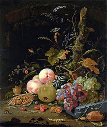 Still Life of a Forest Floor | Abraham Mignon | Painting Reproduction