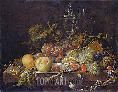 Abraham Mignon | Still Life with Fruits, undated