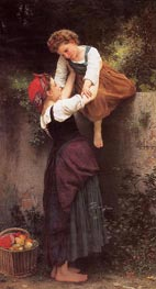 Little Marauders, 1872 von Bouguereau | Gemälde-Reproduktion