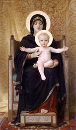 Virgin and Child, 1888 by Bouguereau | Painting Reproduction