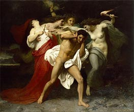 Orestes Pursued by the Furies | Bouguereau | veraltet