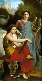 Art and Literature, 1867 by Bouguereau | Painting Reproduction