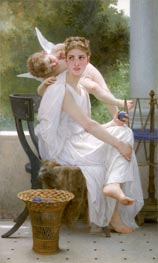 Work Interrupted (Penelope), 1891 by Bouguereau | Painting Reproduction