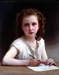 A Calling, 1890 by Bouguereau | Painting Reproduction