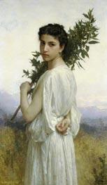 Laurel Branch   Bouguereau   Painting Reproduction