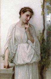 Revery, 1894 by Bouguereau | Painting Reproduction