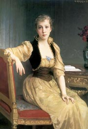 Lady Maxwell, 1890 by Bouguereau | Painting Reproduction