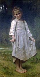 The Curtsey, 1898 by Bouguereau | Painting Reproduction