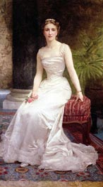 Portrait of Madame Olry-Roederer, 1900 by Bouguereau | Painting Reproduction