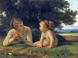 Temptation, Undated by Bouguereau   Painting Reproduction