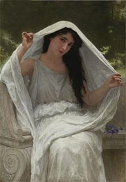 The Veil, 1898 by Bouguereau | Painting Reproduction