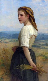 Glaneuse, 1894 by Bouguereau   Painting Reproduction