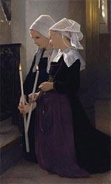 Le Voeu a Sainte-Anne-D'auray, 1869 by Bouguereau | Painting Reproduction