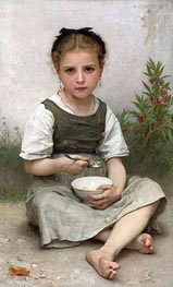 Morning Breakfast, 1887 by Bouguereau   Painting Reproduction