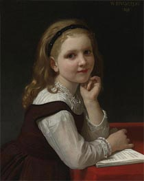 Distraction, 1868 by Bouguereau   Painting Reproduction