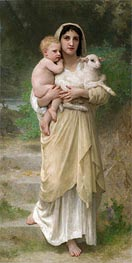 The Lamb, 1897 by Bouguereau   Painting Reproduction