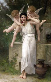 Youth, 1893 by Bouguereau | Painting Reproduction