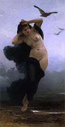 Night, 1883 by Bouguereau | Painting Reproduction
