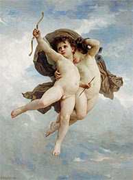 Cupid Victorious, 1886 by Bouguereau | Painting Reproduction