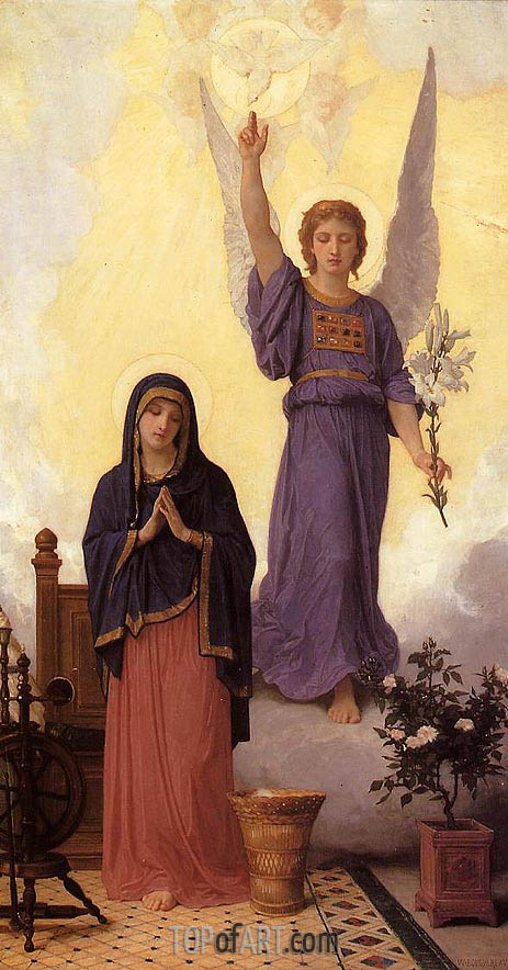 Bouguereau | The Annunciation, 1888
