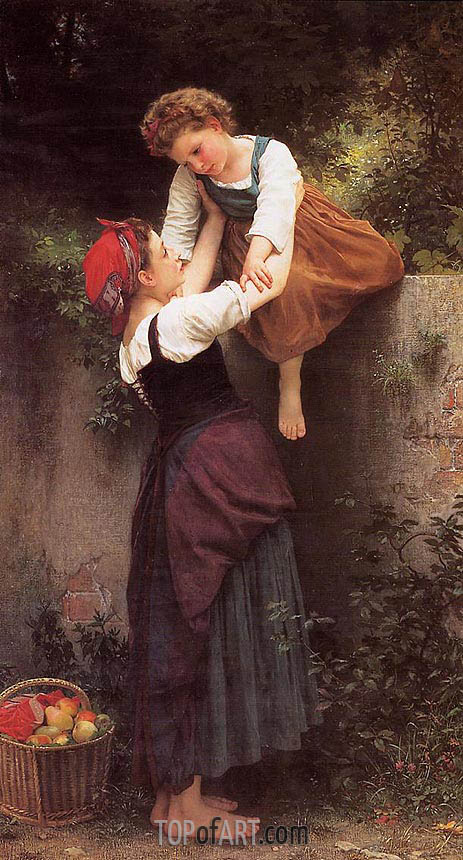 Bouguereau | Little Marauders, 1872