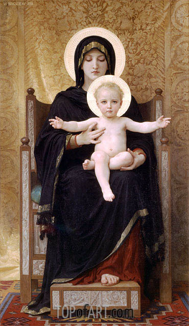 Bouguereau | Virgin and Child, 1888