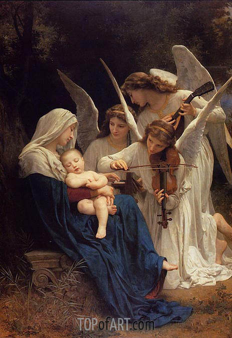 Bouguereau | Song of the Angels, 1881
