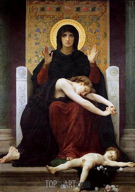 Bouguereau | Vierge consolatrice (Virgin of Consolation), 1877