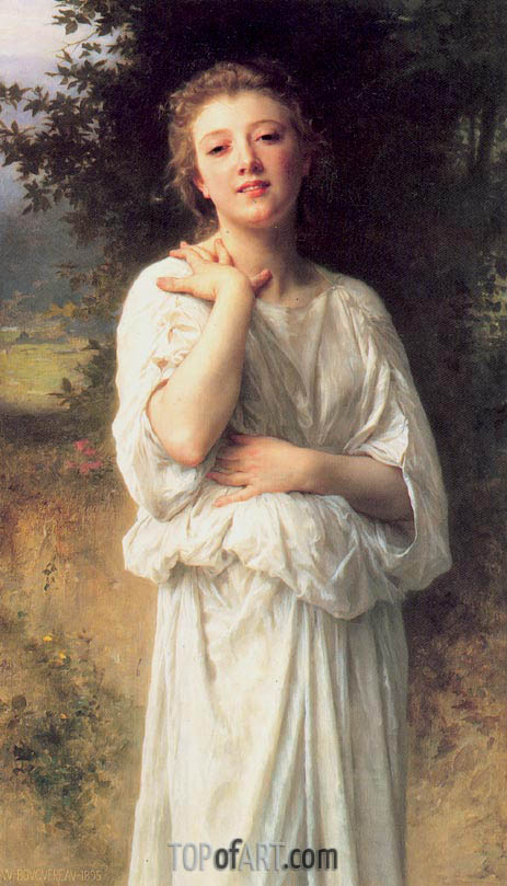 Girl, 1895 | Bouguereau| Painting Reproduction