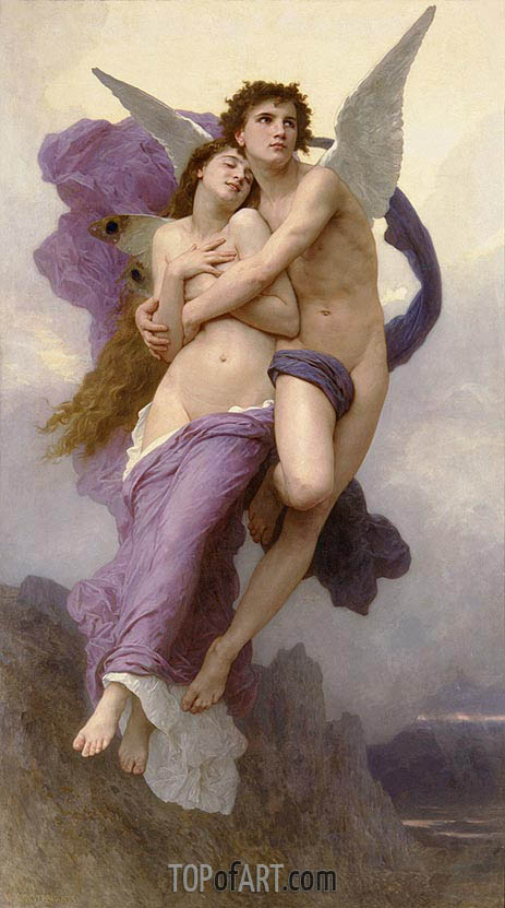 The Abduction of Psyche, 1895 | Bouguereau | Painting Reproduction