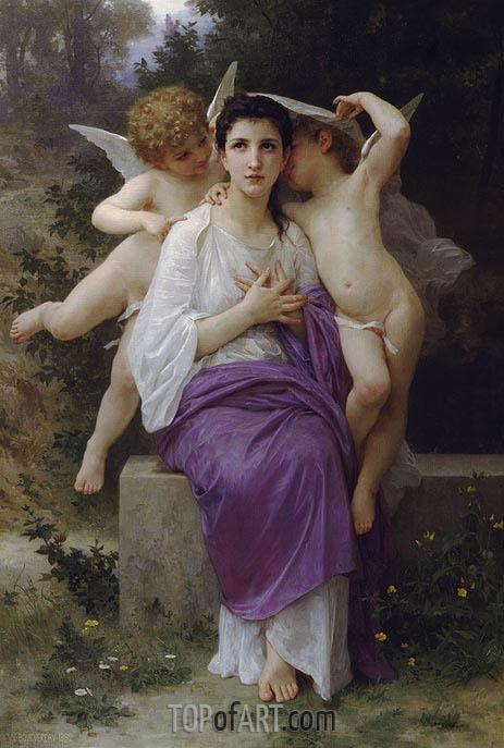 Bouguereau | The Heart's Awakening, 1892