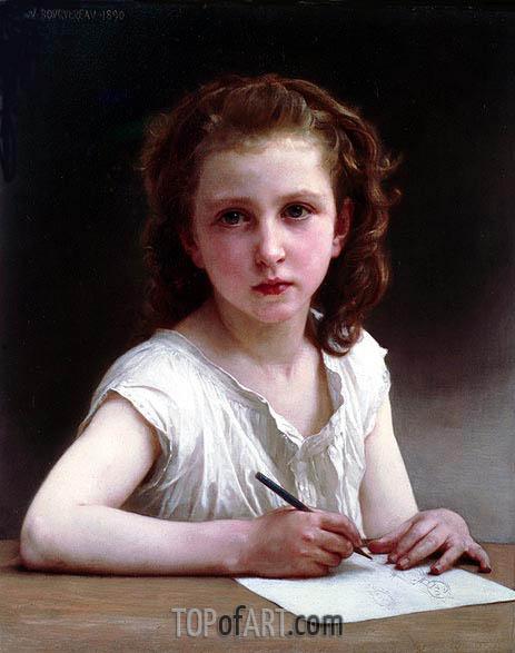 Bouguereau | A Calling, 1890