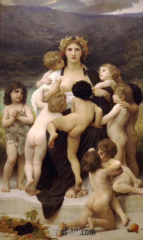 Alma Parens, 1883 | Bouguereau | Painting Reproduction