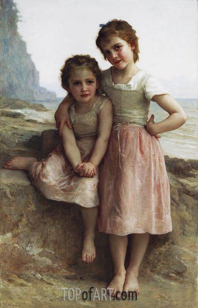 Bouguereau | Schwestern am Ufer, 1896