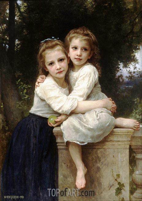 Bouguereau | Two Sisters, 1901