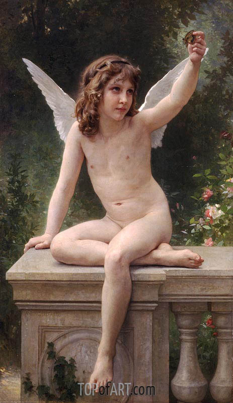 The Prisoner, 1891 | Bouguereau | Painting Reproduction