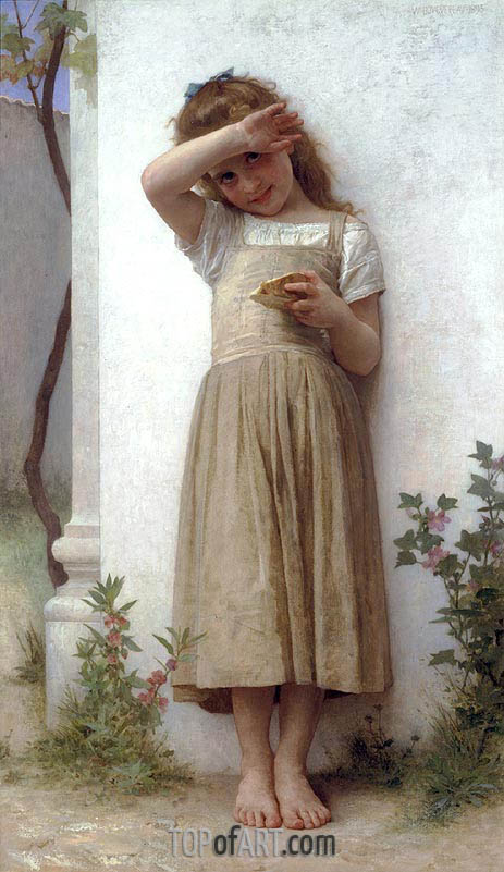 In Penitence, 1895 | Bouguereau | Painting Reproduction