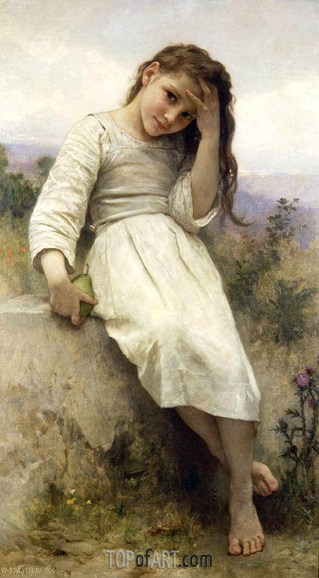 Little Thief, 1900 | Bouguereau | Painting Reproduction