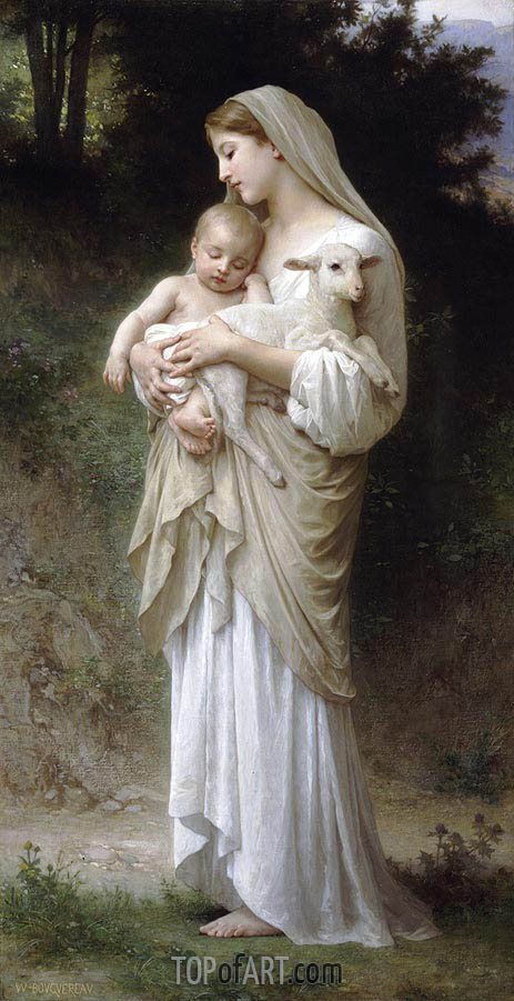 Innocence, 1893 | Bouguereau| Painting Reproduction