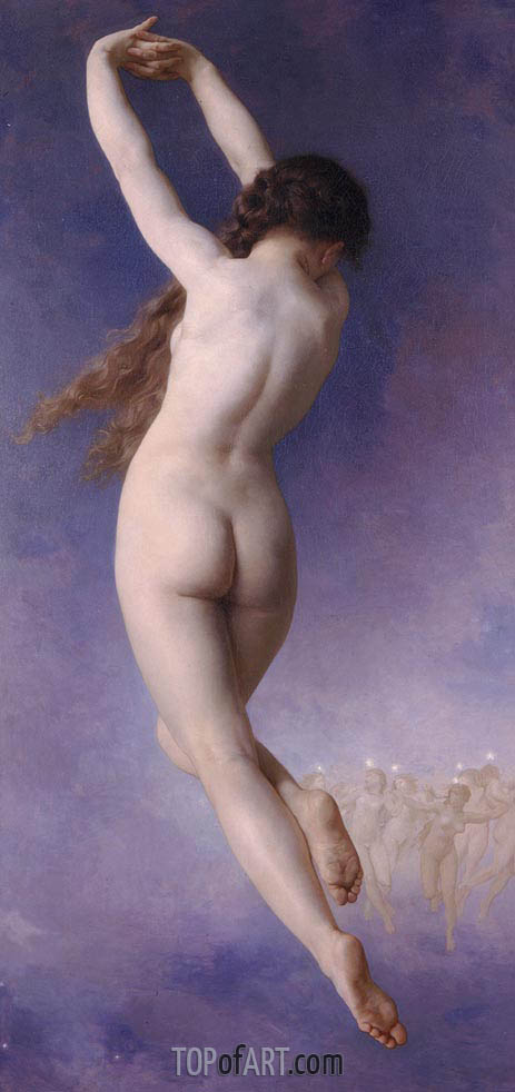 The Lost Pleiad, 1884 | Bouguereau| Painting Reproduction